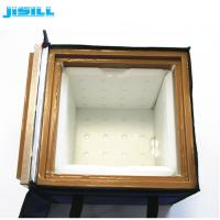 China Vacuum Insulated Material Portable Medical Vaccine Travel Cooler Box on sale