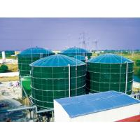 Quality Smooth Glass Fused To Steel Tanks , Above Ground Fuel Storage Tanks AO Reactors for sale