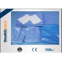 Quality Sterile C - Section Disposable Surgical Packs With Mayo Cover Waterproof for sale