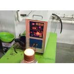 China Portable Induction Gold Melting Furnace 2kg Melting 1800 ℃ Gold Melting Machine for sale