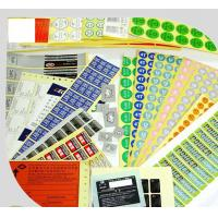 Quality Various Shape Printed Colorful Label Printing Service for sale