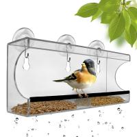 Best Squirrel Proof Window Bird Feeder With Removable Tray shenzhen factory wholesale