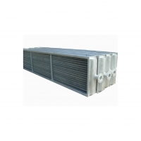 Quality RoHS 20mm Corrosion Resistant Fin Type Heat Exchanger Condenser for sale