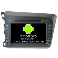 Quality Professional Honda Civic Media Player 2012 DVD Navigation Car Stereo GPS Navigation Systems for sale
