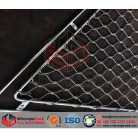 SW05 Stainless Steel Twistmesh, galvanized wire cable mesh, wire rope mesh fence