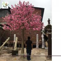 Buy cheap UVG wedding party favors fake cherry tree with silk cherry blossom flowers for church decorations CHR165 from wholesalers