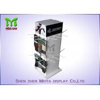 Best Four Sides Spinner Cardboard Advertising Displays , Hook Display Rack Eco Friendly wholesale