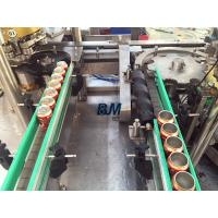 Best Electric Driven 2 In 1 Monoblock Aluminum / Tin Can Filling Line With 12 Filling Heads wholesale