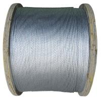 Quality Zinc-coated Steel Wires Strand 1×7 EHS 3/16inch, ASTM A 475 for sale