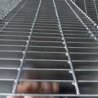 Quality 32x5mm Platform Checker Plate Serrated Galvanized Steel Grating Door Mat for sale