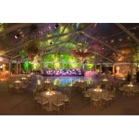 Quality Aluminum Frame Transparent Marquee Tent , Outside Clear Party Tent Unique Decorations for sale