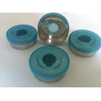 China 32mm flip off/tear off caps /aluminium and plastic cap for glass bottle on sale