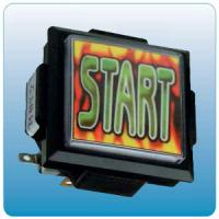 Quality Start Push Button Arcade Game Machine Parts With Micro Switch 60mm X 60mm Size for sale