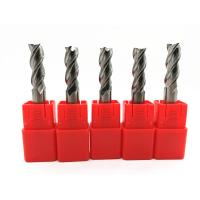 Quality CNC Machines Solid Carbide End Mills Milling Cutter Tools HRC45 ~ 60 for sale