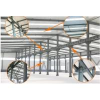Quality Professional Prefabricated Warehouse Steel with Metallic Roof Construction for sale