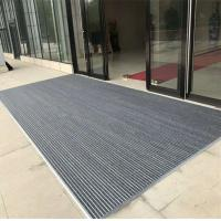 China high effective anti slip aluminum entrance mat with different thickness best dust control mat on sale