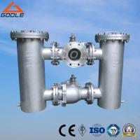 Quality Flanged 3 Way- Ball Valve Conected Duplex Bucket/Basket Strainer (GB41H) for sale