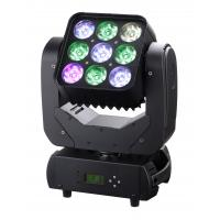 Quality 4in1 RGBW Matrix Moving Head Wash Light Black Case LED 9 x 10W For Theatre for sale