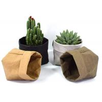 Quality Recycled Kraft Paper Storage Bags Grocery Toys Washable Paper Storage Bags for sale