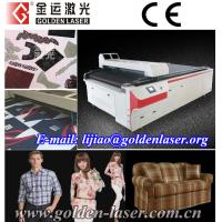 China Contour Cutting Printing Fabric,VisionCUT Lasers on sale