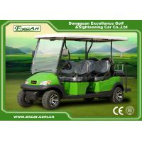 Buy cheap 6 Passenger Electric Golf Carts , 48V Trojan Battery Golf Buggy Car from wholesalers