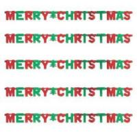 China Merry Christmas Banner on sale
