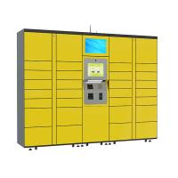 China 15 inch Touch Screen Parcel Delivery Lockers , Computer System Parcel Locker Service on sale