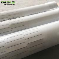 Quality Water / Oil Reservation Layer Slotted Pipes For Borewell Easy To Operate for sale