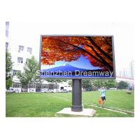 China Epistar P10 Outdoor Advertising LED Display MBI5024 IC DIP346 160×160 mm on sale