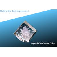 Buy cheap Crystal cut corner CUBE/3D LASER ENGRAVING CRYSTAL CUBE/blank crystal cube for 3d laser from wholesalers