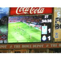 Quality High contrast IP65 / IP54 slim sport LED Display Video with 4000Hz Refresh Rate for sale