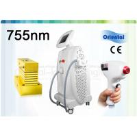 Quality High Performance 755nm Alexandrite Laser Hair Removal Machine CE / ISO 9001 for sale
