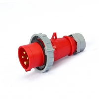 Buy cheap Single Phase IP44 3 Pole 50V IEC309 Low Voltage Plugs from wholesalers
