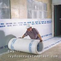 China Polypropylene pp hollow plastic rolls Correx Floor Protection sheet on sale