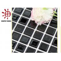 Quality HTY - TB 300 China 2018 Crystal Glass Block Mosaic Tile for sale