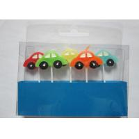 Best Stylish Race Car Shaped Birthday Candles Paraffin Art Candles Decorative For Boys wholesale