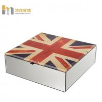 Buy cheap Customized Pattern Antique Mirror Jewelry Box Bracelet Organizer Classic from wholesalers