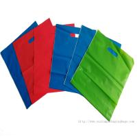Quality CPE Material Recyclable Die Cut Handle Plastic Bags Stand Up Pouch Moisture Proof for sale