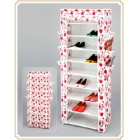 China PP Fabric Durable Shoe Shelf Stand Home Decorative Shoes Racks Over the Door on sale