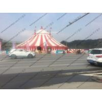 Quality PVC Pagoda Canopy Red And White Roof Cover High Peak For Outdoor Event Trade Show for sale