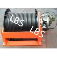 Quality Slow Speed Hydraulic Cable Winch For Overhead Working Truck And Hoist Machine for sale