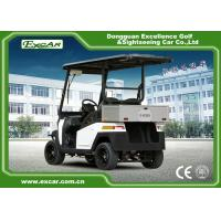 Quality EEC 2 Passenger Electric Golf Carts , Motorized Golf Buggy With ADC 3.7kw Motor for sale