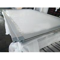 Quality 2018 Hot and Customized OEM competitive price aluminum snap frame with plastic corner key, China aluminum extrusion for sale