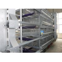 Quality Professional Industrial Chicken Coop High Tech Poultry Cage 8 Tiers for sale