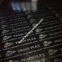 Black film faced plywood with logo, black faced shuttering plywood, black film faced marine plywood