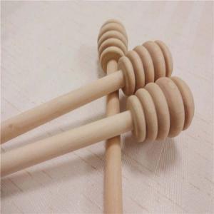 """Best wood honey stirrer  6"""" natural wooden sticks wood muddler wholesale"""
