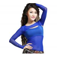 China Special Sexy Royal Blue Belly Dance Bra Tops For Women OEM on sale