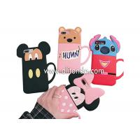 Quality Cute silicone animal cartoon phone case supply promotional silicone girls phone cover custom for sale