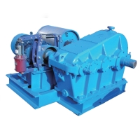 Quality 220V Light Duty Double Speed 1T 2T Industrial Electric Winch for sale