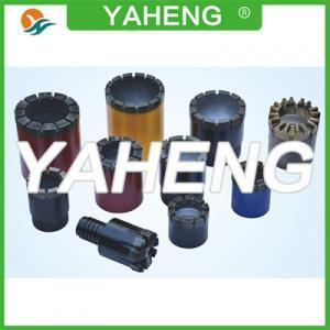 China High drill speed B76 Diamond Core Bit , OD 75.87~76.12mm on sale